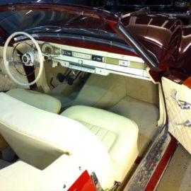 Ein sehr hübsches Borgward Isabella Cabrio…